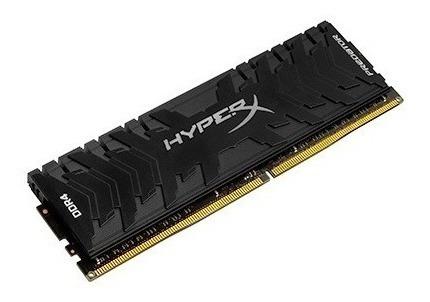 memória gamer 8gb ddr4 3000mhz hyper x predator preta