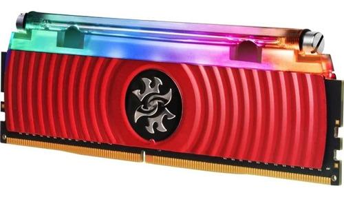 memória gamer adata xpg spectrix 8gb ddr4 3000mhz lacrada