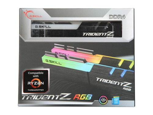 memoria g.skill tridentz rgb 16gb (2 x 8gb)ddr4 3200mhz