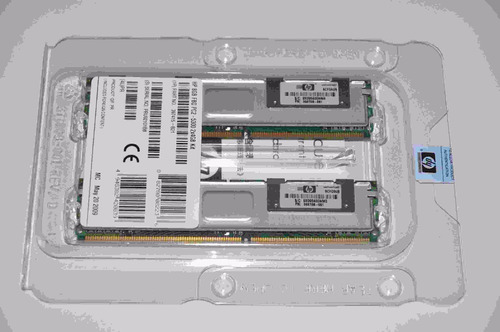 memoria hp 8gb fbd pc2-5300 ml350 ml370 dl360 dl380 g5