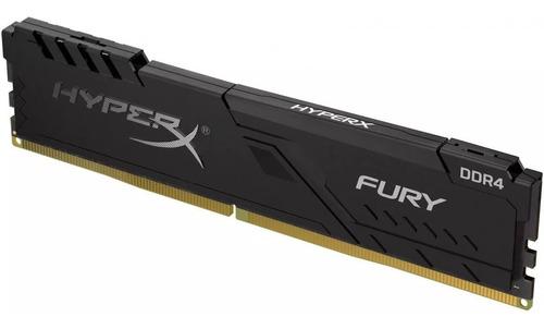 memória hyper x fury 8gb ddr4 2666mhz hx426c16fb3/8 cl16