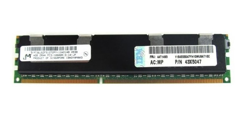 memoria ibm 4gb pc3-10600r ddr3  44t1493 ibm system x3650 m2