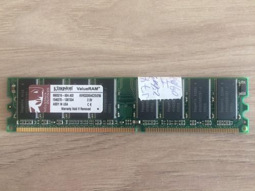 memoria kingston 256 mb dimm pc2700 para pc.