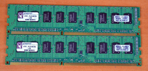 memória kingston 2gb ddr3 1333mhz ecc server kth-pl313e/2g