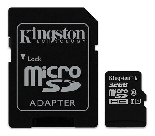 memoria kingston 32gb micro - class 10