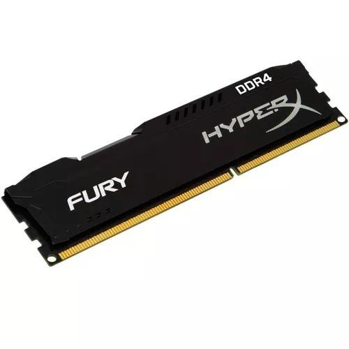 memoria kingston 4gb ddr4 2400mhz hyperx fury gamer original