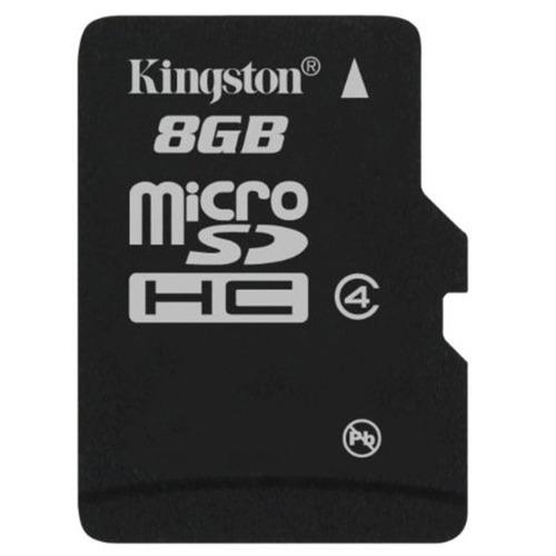 memoria kingston 8 gb micro sd hc clase 4