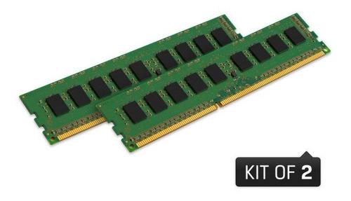 memoria kingston ddr3 kvr16ln11k2/16 16gb kit (2x8gb) 1600mhz ddr3 non-ecc cl11 udimm low voltage 1.35v