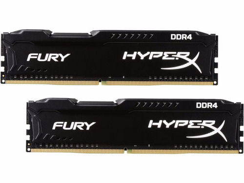 memória kingston hyperx fury ddr4 8gb 2400mhz pc gamer