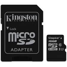 memoria kingston micro sdhc 16gb