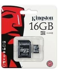 memoria kingston micro sdhc clase 10 16gb envío gratis!