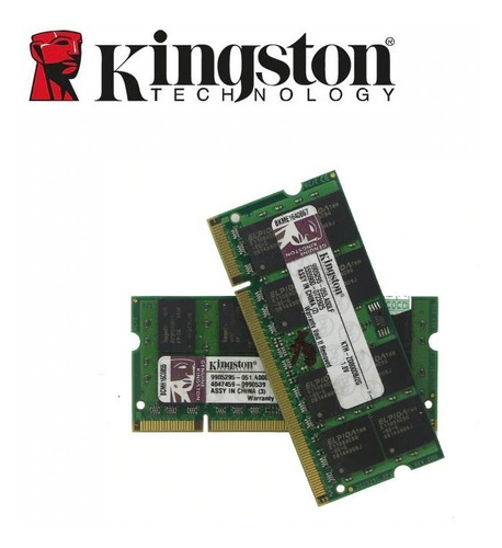 memoria kingston notebook ddr2 800 mhz 2gb barato seminova