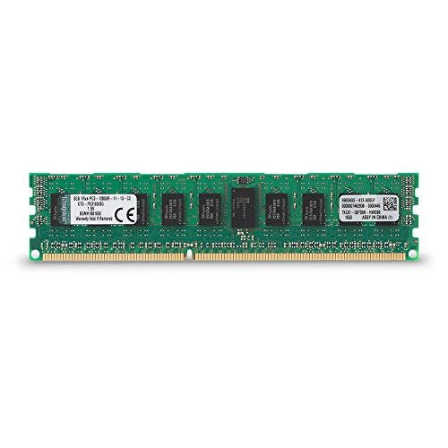 memoria kingston technology 8gb 1600mhz ddr3 reg ecc