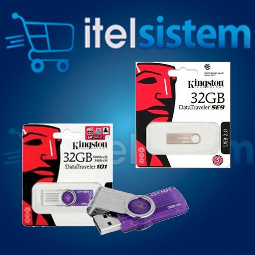 memoria kingston usb 32 gb mayor y menor sellado itelsistem
