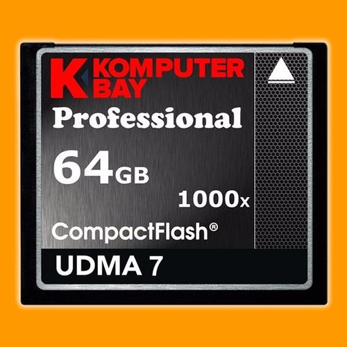 memoria komputerbay compact flash 64gb -1000x - tecnoactiva