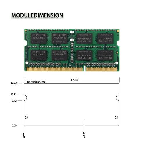 memoria laptop 4gb ddr3