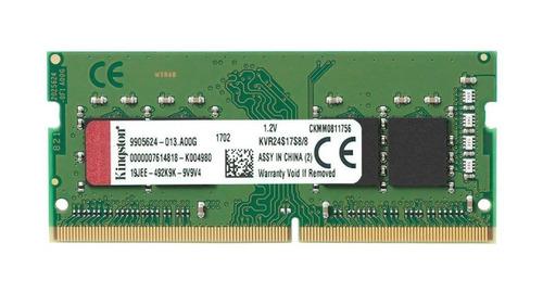 memoria laptop sodimm 8gb ddr4 cl17 2400mhz 2666mhz kingston
