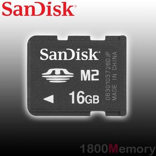 memoria m2 16gb sandisk