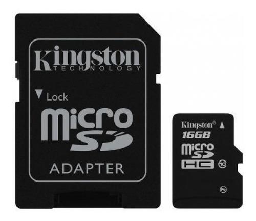 memoria micro 16gb kingston celular
