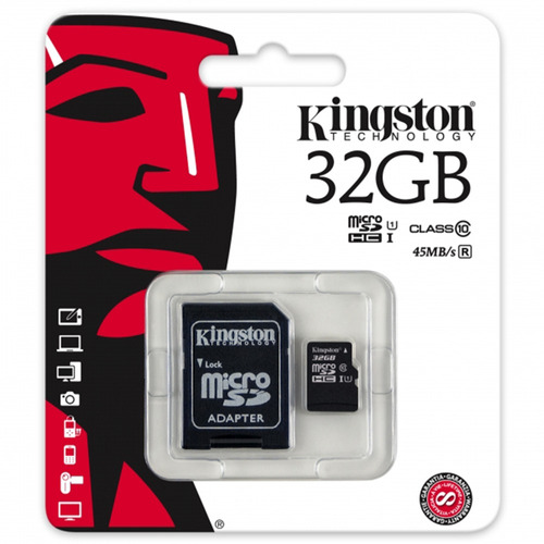 memoria micro 32gb kingston