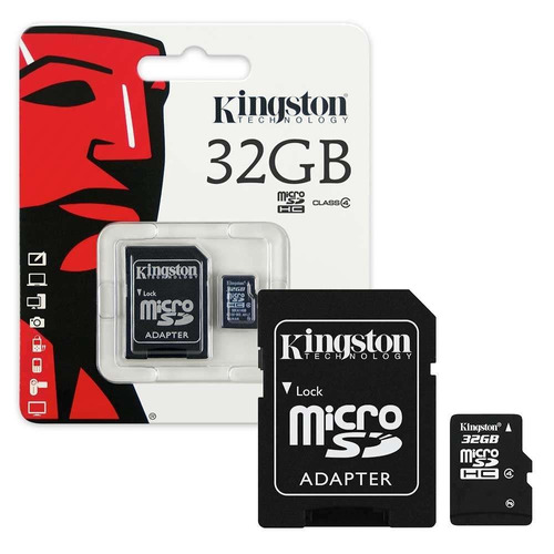memoria micro 32gb kingston celulares