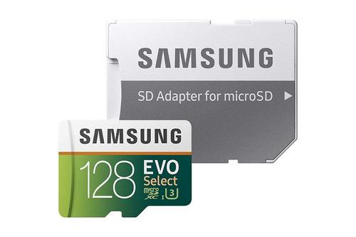 memoria micro sd 128gb samsung evo clase 10 u3 original