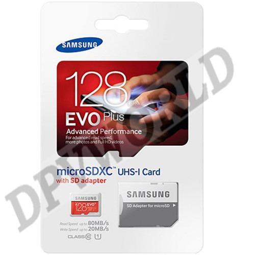 memoria micro sd 128gb samsung original clase 10 evo plus u1