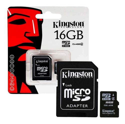 memoria micro sd 16gb clase 10 celulares camaras