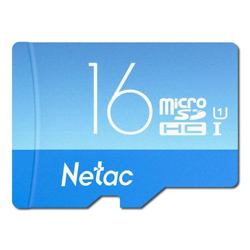 memoria micro sd 16gb hc netac sdhd u1 clase 10
