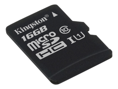 memoria micro sd 16gb kingston clase 10 canvas select 16 gb