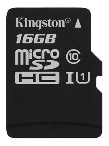 memoria micro sd 16gb kinstong clase 10 original 16 gigas