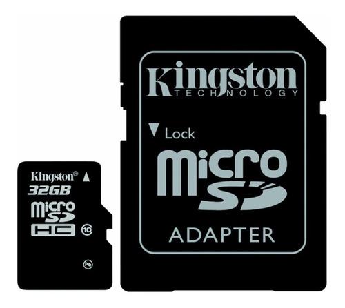 memoria micro sd 32 gb kingston clase 10 2
