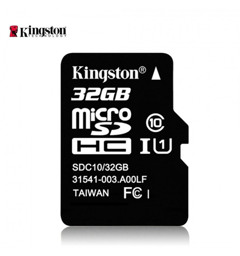 memoria micro sd 32 gb kingston original clase 10 inc iva