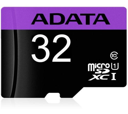 memoria micro sd 32gb adata clase 10 video full hd celulares