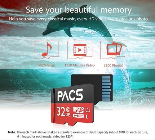 memoria micro sd 32gb clase 10 4895