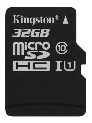 memoria micro sd 32gb clase 10 kingston