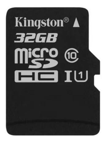 memoria micro sd 32gb clase 10 kingston