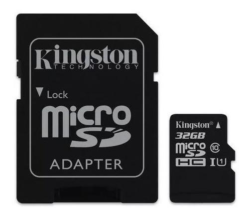 memoria micro sd 32gb clase 10 kingston adaptador mayoreo