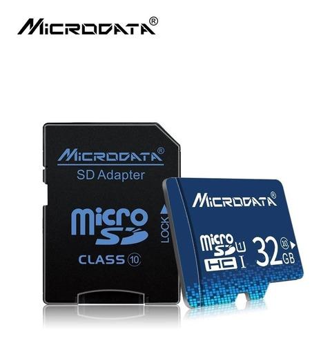 memoria micro sd 32gb clase 10 microdata + obsequio