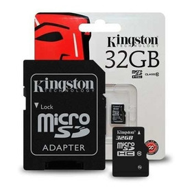 Memoria Micro Sd 32gb Kingston Clase 10 Fullhd  Microcentro