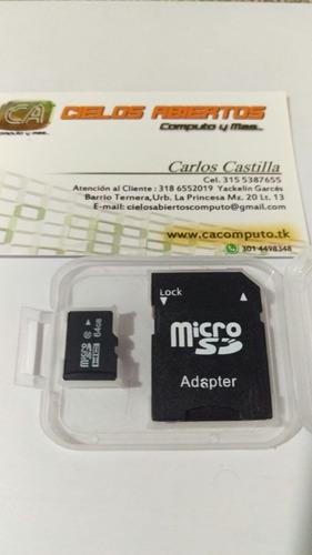 memoria micro sd 64 gb