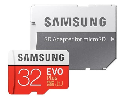 memoria micro sd 64gb 32gb samsung evo plus clase 10 u1 95mb