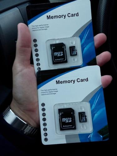 memoria micro sd 64gb + adaptador nuevas en blíster sellado