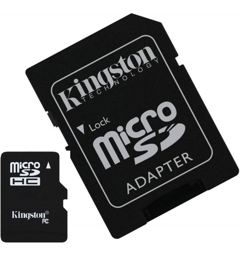 memoria micro sd 64gb clase 10 kingston full hd sdxc 80mb