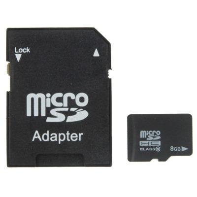 memoria micro sd 8 gb velocidad clase 10 tf taiwan negro