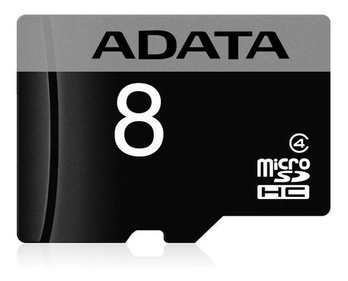 memoria micro sd 8gb adata clase 4 adaptador nueva original