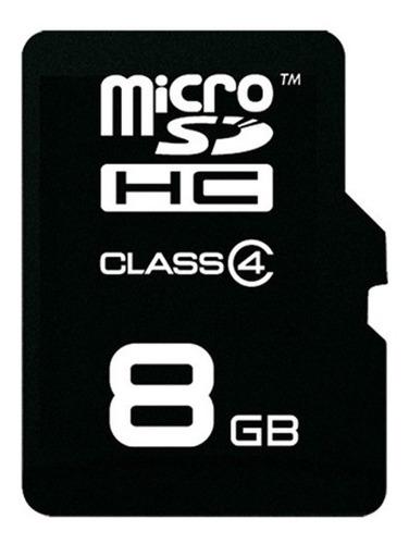 memoria micro sd 8gb clase 4 celular camara tablet febo