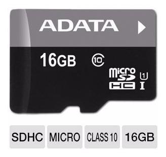 memoria micro sd adata 16 gb c 10 uhs-i 50 mb/seg factura l