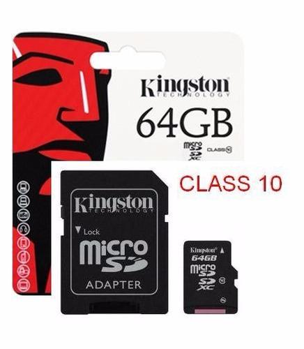memoria micro sd de 64gb