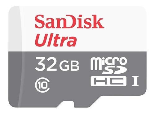 memoria micro sd hc 32gb clase 10 sandisk ultra